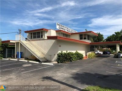 Oakland Park Commercial For Sale: 5040 NE 13th Ave