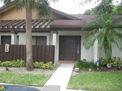 Coconut Creek FL Condo/Townhouse For Sale: $179,500