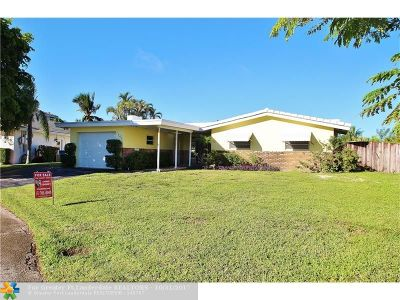 Oakland Park Single Family Home Backup Contract-Call LA: 2947 NE 15th Ter