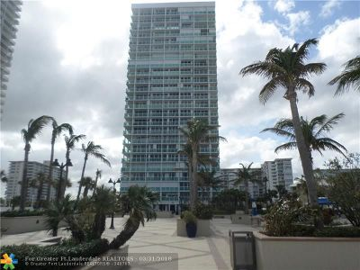 Fort Lauderdale Condo/Townhouse For Sale: 2100 S Ocean Lane #2309