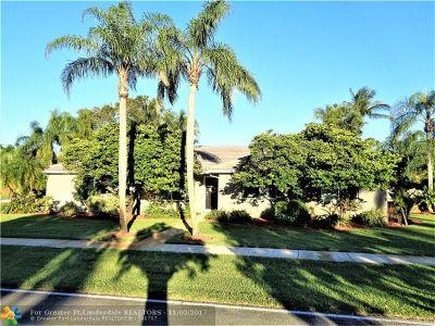 Plantation Single Family Home Backup Contract-Call LA: 660 El Dorado Pkwy