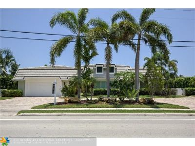 Fort Lauderdale Single Family Home For Sale: 4510 Bayview Dr