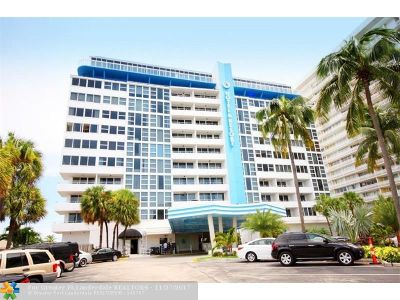Fort Lauderdale Condo/Townhouse For Sale: 4040 Galt Ocean Dr #811
