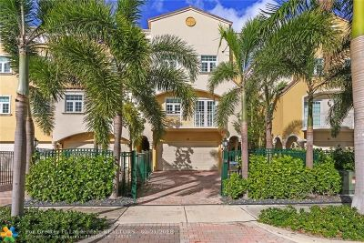 Fort Lauderdale Condo/Townhouse For Sale: 61 Isle Of Venice Dr #61