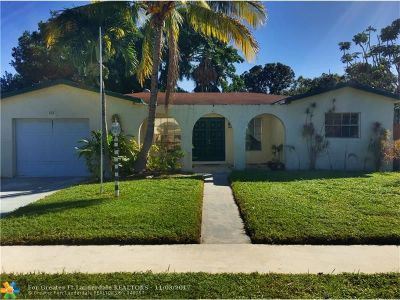 Margate Single Family Home For Sale: 881 SW 49th Ter