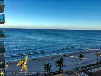 Fort Lauderdale Condo/Townhouse For Sale: 3900 Galt Ocean Dr #802