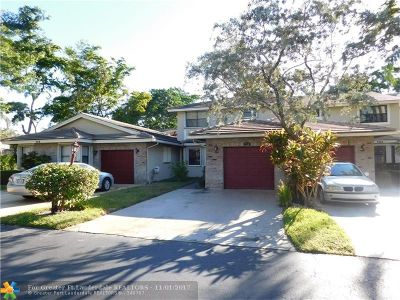 Deerfield Beach Condo/Townhouse Backup Contract-Call LA: 734 N Shore Dr #734