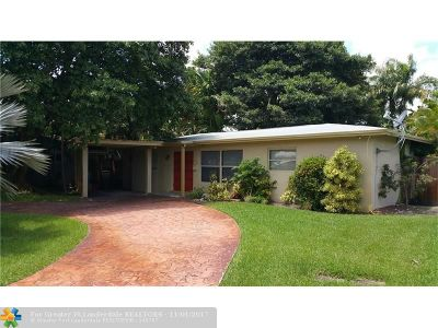 Oakland Park Single Family Home Backup Contract-Call LA: 1971 NW 32nd Ct