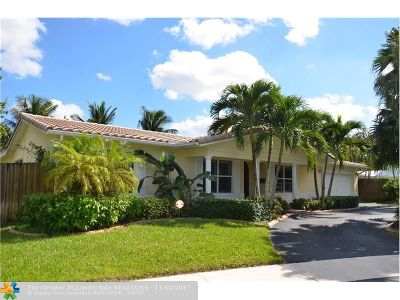 Plantation Single Family Home For Sale: 130 SW 63rd Ter