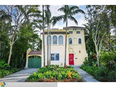 Hollywood Single Family Home For Sale: 1506 Hollywood Blvd