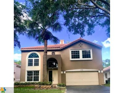 Parkland Single Family Home For Sale: 6765 NW 75th Pl