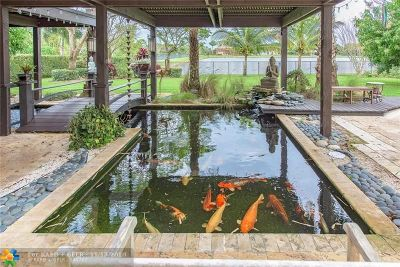 Davie Single Family Home For Sale: 3378 Bradenham Ln