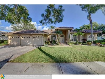 Parkland Single Family Home For Sale: 7112 NW 68th Dr