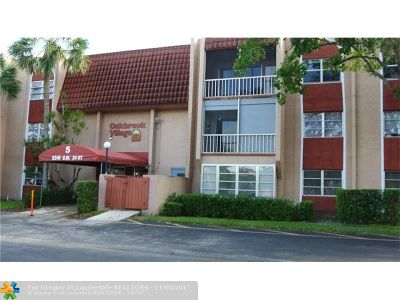 North Lauderdale Condo/Townhouse For Sale: 8240 SW 24th St #5303