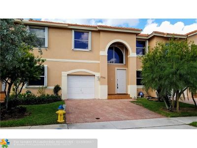 Pembroke Pines Condo/Townhouse Backup Contract-Call LA: 2326 NW 160th Ter #2326