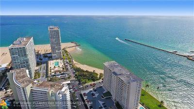 Fort Lauderdale Condo/Townhouse For Sale: 2100 S Ocean Dr #16-E