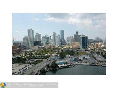 Miami Condo/Townhouse For Sale: 350 S Miami Av #2605