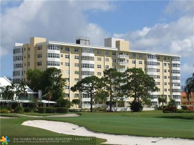 Fort Lauderdale Condo/Townhouse For Sale: 2500 NE 48th Ln #509