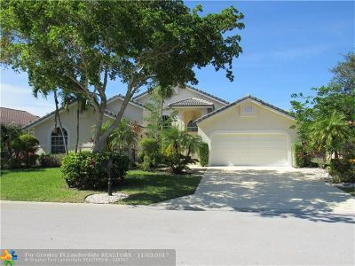 Coral Springs Single Family Home For Sale: 1750 NW 127th Way