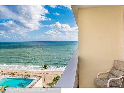 Condo/Townhouse For Sale: 4250 Galt Ocean #10J