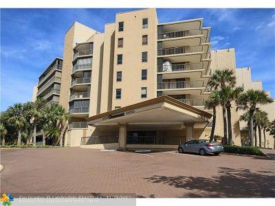 Hillsboro Beach Condo/Townhouse Backup Contract-Call LA: 1167 Hillsboro Mile #403