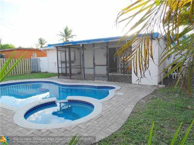 Broward County Single Family Home For Sale: 5170 N Andrews Av