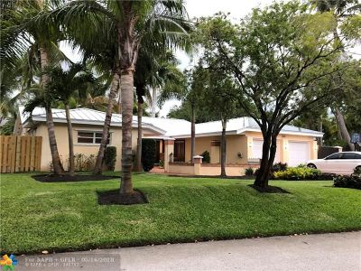 Fort Lauderdale Single Family Home For Sale: 1451 SW 18th Ter
