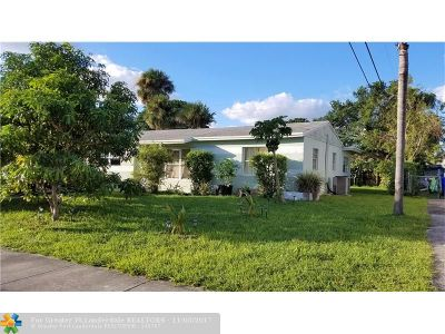 North Lauderdale Single Family Home For Sale: 6211 SW 18th Pl
