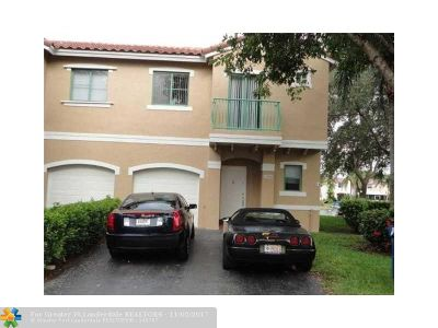 Sunrise Condo/Townhouse For Sale: 1380 NW 126th Ave #1380