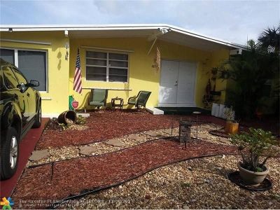 Pompano Beach Single Family Home For Sale: 5278 NE 16th Ave