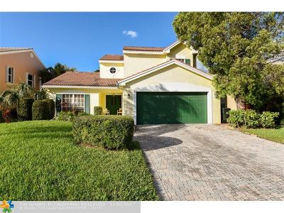Coconut Creek Single Family Home For Sale: 3431 NW 71st St