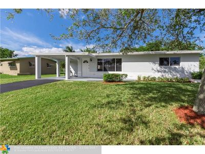 Margate Single Family Home Backup Contract-Call LA: 6249 NW 17th St