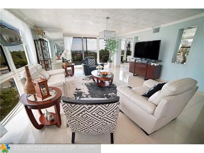 Condo/Townhouse For Sale: 3031 N Ocean Blvd #706