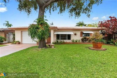 Wilton Manors Single Family Home For Sale: 609 NW 28th Ct