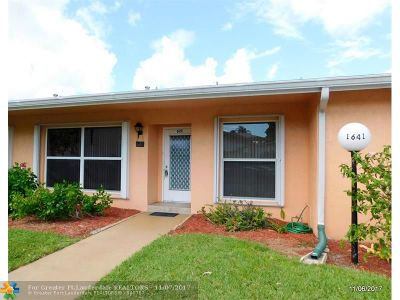 Delray Beach Condo/Townhouse For Sale: 1641 NW 20th Ave #C