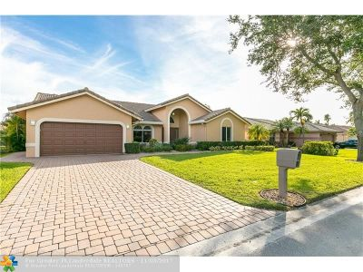 Coral Springs Single Family Home For Sale: 12300 NW 2nd St