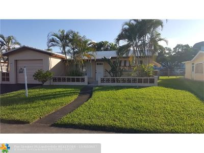 Lauderdale Lakes Single Family Home For Sale: 4172 NW 45th Ave