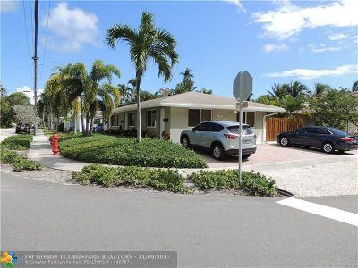 Fort Lauderdale Multi Family Home For Sale: 644 NE 16 Ave