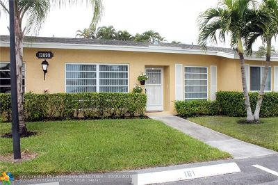 Delray Beach Condo/Townhouse For Sale: 13899 Via Aurora #C