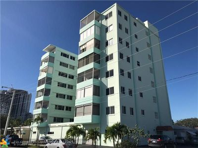 Hollywood Condo/Townhouse For Sale: 1700 Pierce St #703
