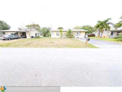 Pompano Beach FL Single Family Home For Sale: $204,000