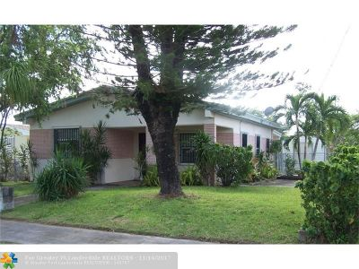 Homestead Single Family Home For Sale: 504 SW 7th Ave