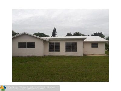 Margate Single Family Home For Sale: 6520 NW 11