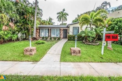 Hollywood Single Family Home For Sale: 743 N Northlake Dr