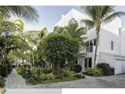 Fort Lauderdale Condo/Townhouse For Sale: 717 NE 4th Ave #717