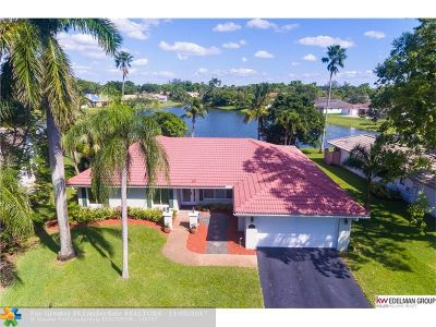 Coral Springs Single Family Home For Sale: 1811 NW 110 Terrace