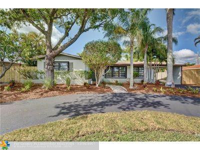 Oakland Park Single Family Home For Sale: 4321 NE 16th Ave