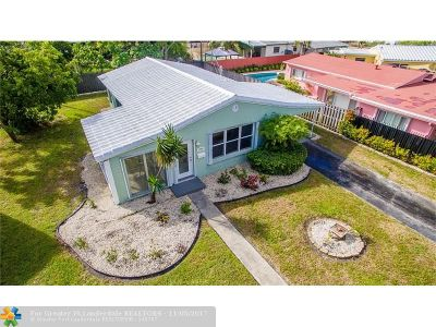 Fort Lauderdale Single Family Home For Sale: 1784 NE 18th St