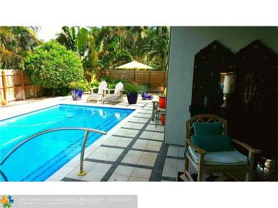 Wilton Manors Single Family Home For Sale: 105 NE 28th Ct