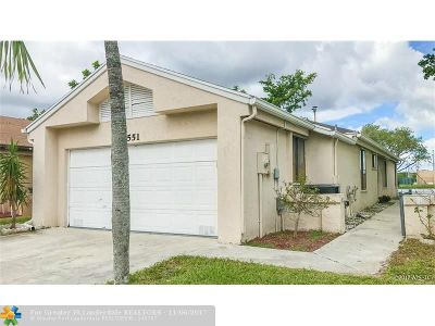 Coconut Creek Single Family Home Backup Contract-Call LA: 3551 NW 21st St